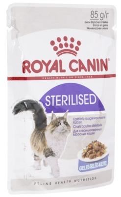 Royal Canin пауч для стерилизованных кошек и кастрированных котов
