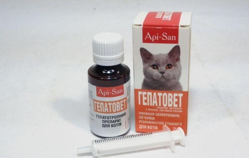 Препарат гепатовет для лечения печени