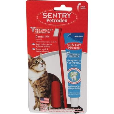 Кошачья паста для чистки зубов
