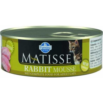Мусс с кроликом Matisse для кошек